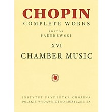 PWM Chamber Music - Chopin Complete Works Vol. XVI PWM Series Composed by Frédéric Chopin