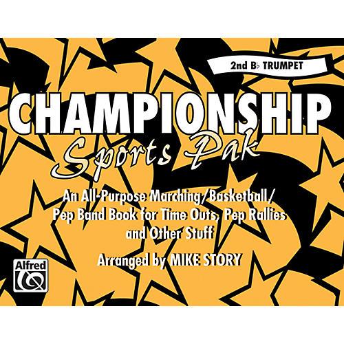 Alfred Championship Sports Pak 2nd B-Flat Trumpet-thumbnail