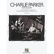 Hal Leonard Charlie Parker Solos Transcribed for Guitar