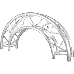 Chauvet 12in Truss Arc Creates 1.5m Outside Diameter Circle with 2 Pieces (CT290415CIR180)