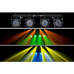 Chauvet 4BAR Flex LED Wash Light System w/ DMX Capability (4BAR Flex)