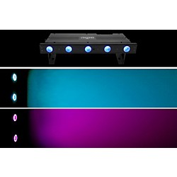Chauvet Freedom Strip Mini Quad-5 RGBA Wireless Quad Color LED Wash Black (FREEDOMSTRIPMINIQUAD5)