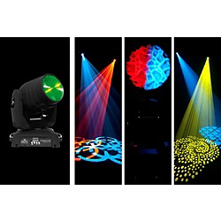 Chauvet Intimidator Beam LED 350 Moving Head Lighting Effect (INTIMBEAMLED350)