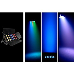 Chauvet SlimBANK Tri-18 Tri-color LED Wash W/ Barn Doors (SLIMBANKTRI18)