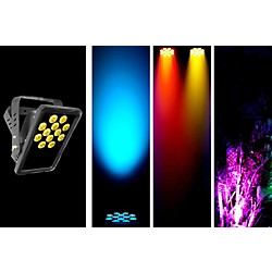Chauvet SlimPANEL Tri-12 IP Rated Oudoor/Indoor Tri Color LED Wash (SLIMPANELTRI12IP)