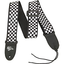 Rock Steady Checkerboard Poly Guitar Strap