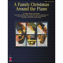 Cherry Lane A Family Christmas Around The Piano arranged for piano, vocal, and guitar (P/V/G) (2500275)