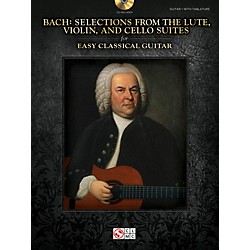 Cherry Lane Bach - Selections from the Lute, Violin & Cello Suites for Easy Classical Guitar (103245)