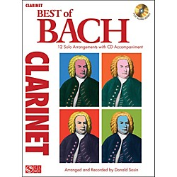 Cherry Lane Best Of Bach Clarinet (2501373)