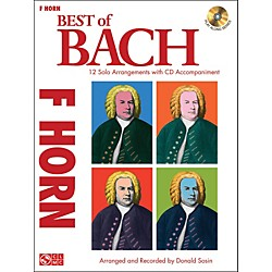 Cherry Lane Best Of Bach French Horn (2501376)