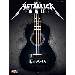 Cherry Lane Best Of Metallica For Ukulele (2502449)