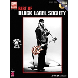 Cherry Lane Best of Black Label Society Book with CD (2500702)