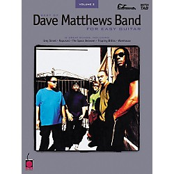 Cherry Lane Best of Dave Matthews Band Easy Guitar Tab Songbook (2500600)