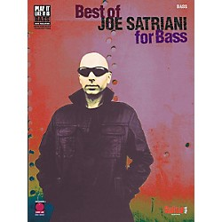 Cherry Lane Best of Joe Satriani for Bass Guitar Tab Songbook (2500500)