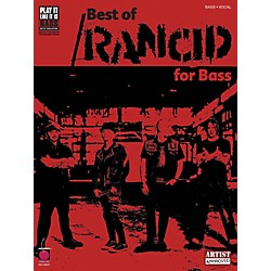 Cherry Lane Best of Rancid Bass Guitar Tab Songbook (2500771)