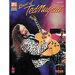 Cherry Lane Best of Ted Nugent Guitar Tab Songbook (2500448)