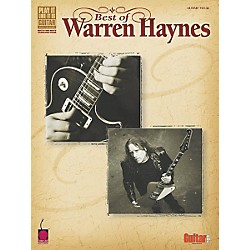 Cherry Lane Best of Warren Haynes Guitar Tab Songbook (2500458)