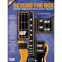 Cherry Lane Beyond The Box: Expand Your Blues/Rock Guitar Soloing (Book/CD) (2501419)