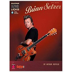 Cherry Lane Brian Setzer - Guitar Legendary Licks Book with CD (2500397)
