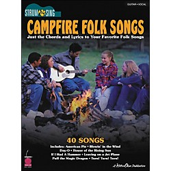 Cherry Lane Campfire Folk Songs - Strum & Sing Series For Easy Guitar (2500686)