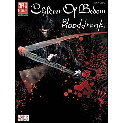 Cherry Lane Children Of Bodom: Blooddrunk Tab Book (2501397)