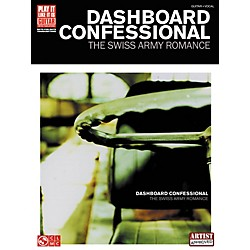 Cherry Lane Dashboard Confessional The Swiss Army Romance Guitar Tab Songbook (2500843)