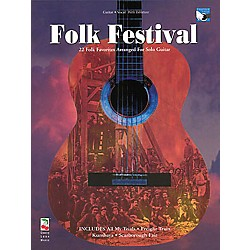 Cherry Lane Folk Festival Guitar Tab Songbook (2506932)