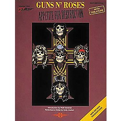 Cherry Lane Guns N' Roses Appetite for Destruction Guitar Tab Songbook (2506953)