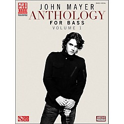 Cherry Lane John Mayer Anthology For Bass: Volume 1 (2501522)
