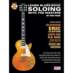 Cherry Lane Learn Blues/Rock Soloing With The Masters Book/CD (2501553)