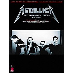 Cherry Lane Metallica - Easy Guitar with Lessons Volume 2 (2500419)
