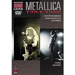 Cherry Lane Metallica - Guitar Legendary Licks 1983-1988 (DVD) (2500479)