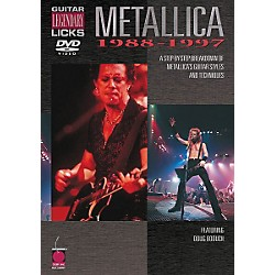 Cherry Lane Metallica - Guitar Legendary Licks 1988-1997 (DVD) (2500480)