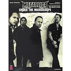 Cherry Lane Metallica - Under the Microscope Guitar Tab Instructional Songbook (02500655)