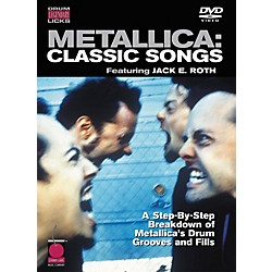 Cherry Lane Metallica: Classic Songs - Drum Legendary Licks DVD (2500839)