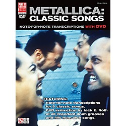 Cherry Lane Metallica Classic Songs For Drum - Note For Note Transcriptions with DVD (2501625)