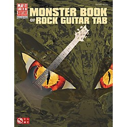 Cherry Lane Monster Book Of Rock Guitar Tab (2501199)