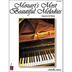 Cherry Lane Mozart's Most Beautiful Melodies For Easy Piano (2500596)