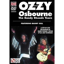 Cherry Lane Ozzy Osbourne: The Randy Rhoads Years - Legendary Guitar Licks (2-DVD Set) (2501301)