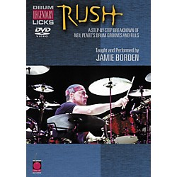 Cherry Lane Rush Legendary Licks for Drums DVD (2500628)
