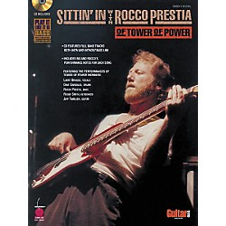 Cherry Lane Sittin' In with Rocco Prestia of Tower of Power Bass Guitar Tab Songbook with CD (2500539)