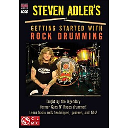 Cherry Lane Steven Adler's Getting Started With Rock Drumming (DVD) (2501387)