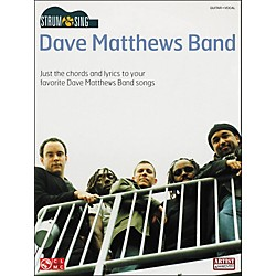 Cherry Lane Strum & Sing Dave Matthews Band Easy Guitar Series Guitar Tab Songbook (2501078)