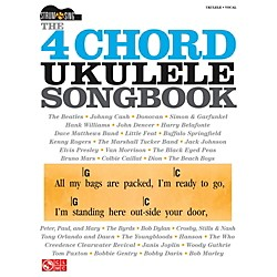 Cherry Lane The 4 Chord Ukulele Songbook  Strum & Sing Series (114331)
