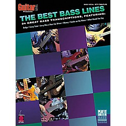 Cherry Lane The Best Bass Lines Tab Songbook (2500311)