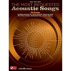 Cherry Lane The Most Requested Acoustic Songs P/V/G Songbook (1518)