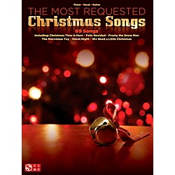 Cherry Lane The Most Requested Christmas Songs for Piano/Vocal/Guitar (P/V/G) (1563)