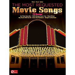 Cherry Lane The Most Requested Movie Songs for Piano/Vocal/Vocal PVG (102882)