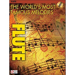 Cherry Lane The World's Most Famous Melodies For Flute Book/CD (2500914)