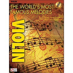 Cherry Lane The World's Most Famous Melodies For Violin Book/CD (2500929)
